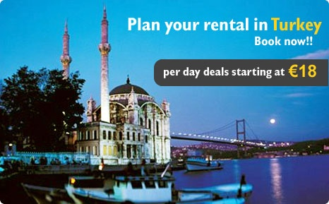 Turkey car rental provide best travel deals at affordable price without any hidden cost