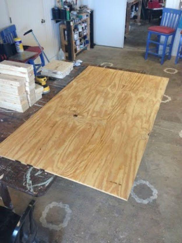 Best 25 cheap bed frames ideas on pinterest cheap for How to make a cheap headboard