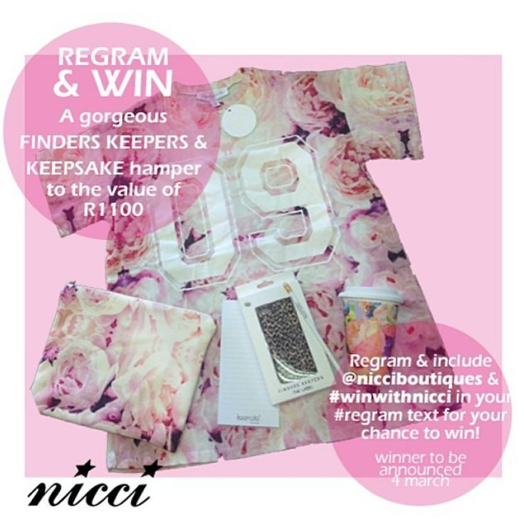 #FindersKeepers competition at #NICCI