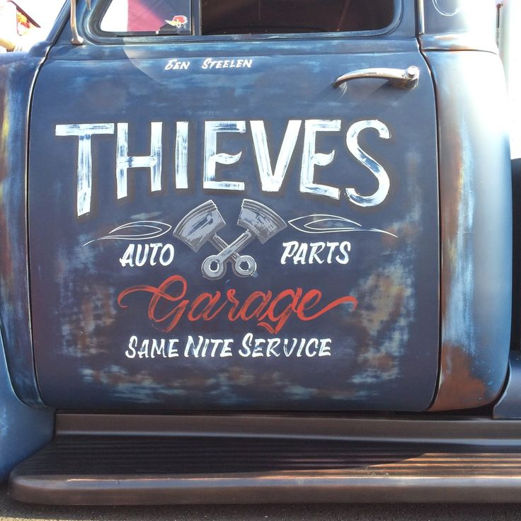 100 Best Painted Truck Doors Images On Pinterest Shop