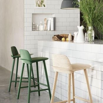 High Nerd bar stools by Muuto.