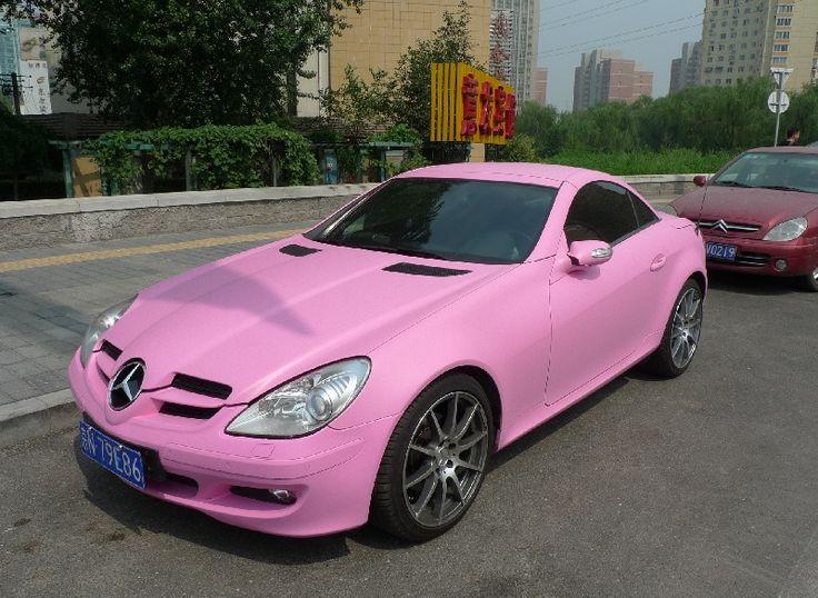 pink mercedes slk girly cars for female drivers love. Black Bedroom Furniture Sets. Home Design Ideas