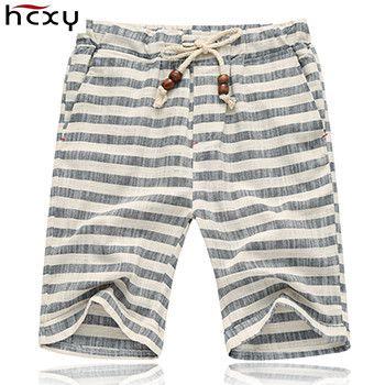 top quality Summer style shorts men 2016 cotton Mens shorts five casual shorts tide male cotton beach linen shorts