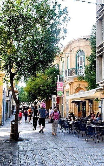 Ledra Street, Old Nicosia, Cyprus