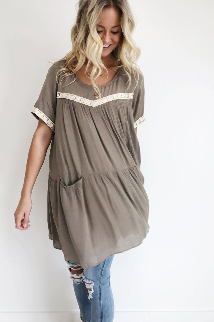 Margot Pocket Tunic