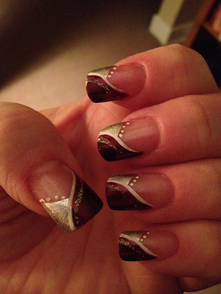 Fancy French Manicure Designs | share | Nail Art | Pinterest ...