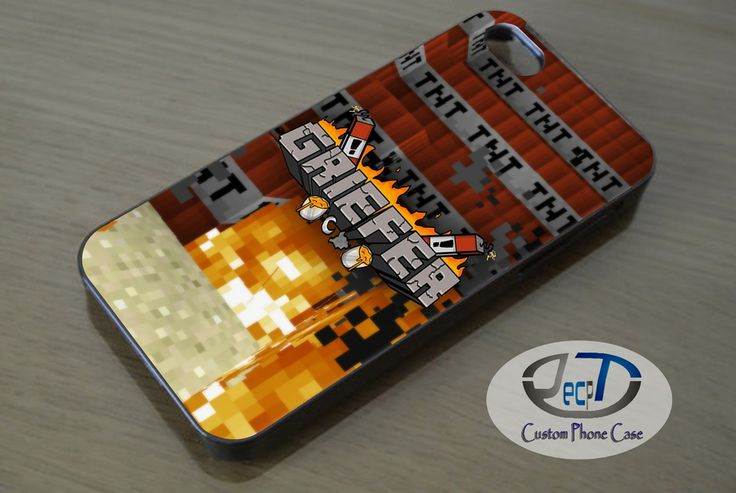 Minecraft Griefer Shirt Case iPhone, iPad, Samsung Galaxy, HTC Cases