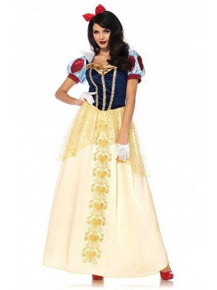 Verkleed je net als Sneeuwwitje in deze mooie prinsessen jurk van Vegaoo.nl!