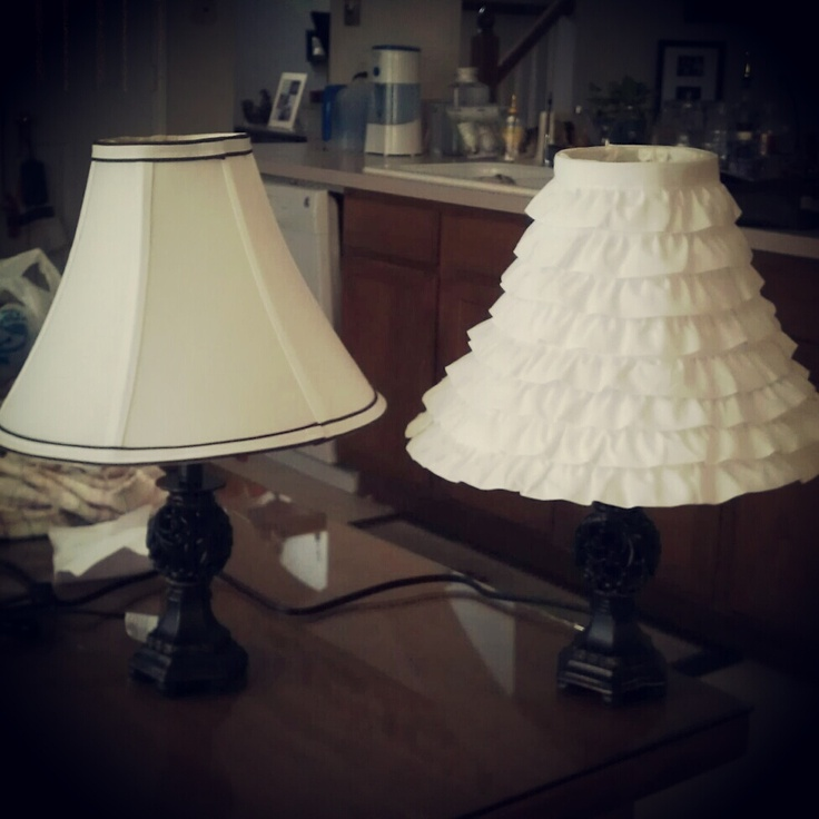 diy lamp shade tutorial