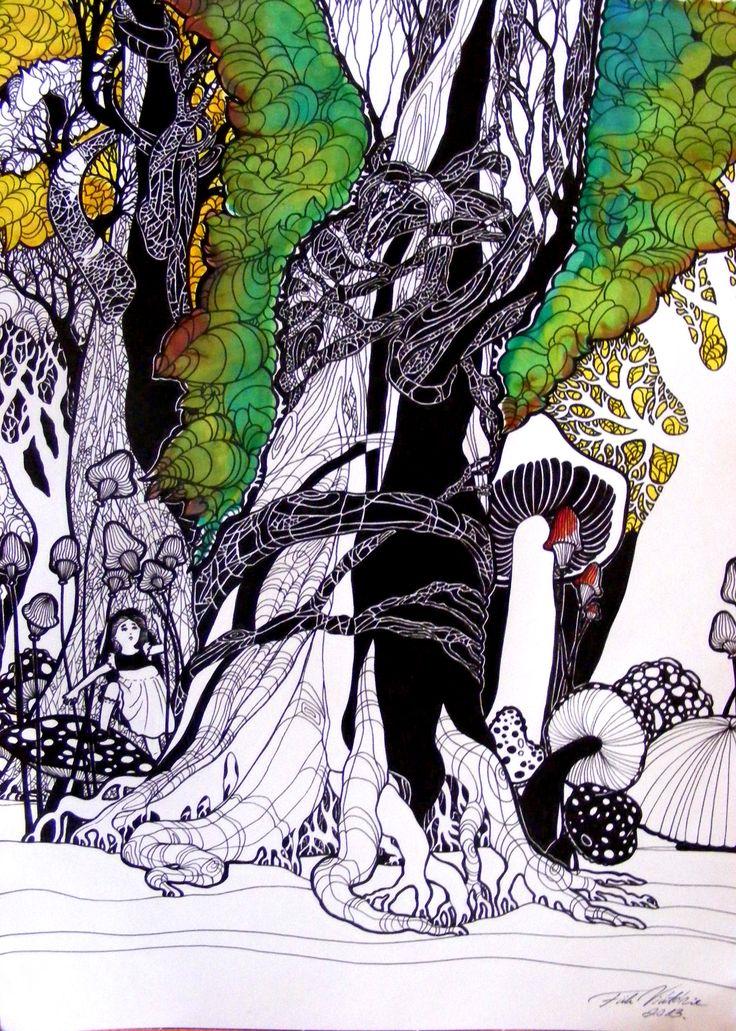 Alice Csodaországban vázlat
