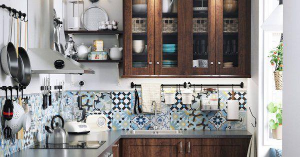 10 Idees Deco A Piquer Aux Cuisines Ikea Avec Images Idee Deco