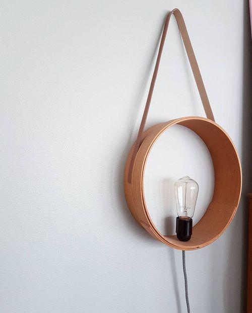 Pyssel/diy - lampa eller hylla