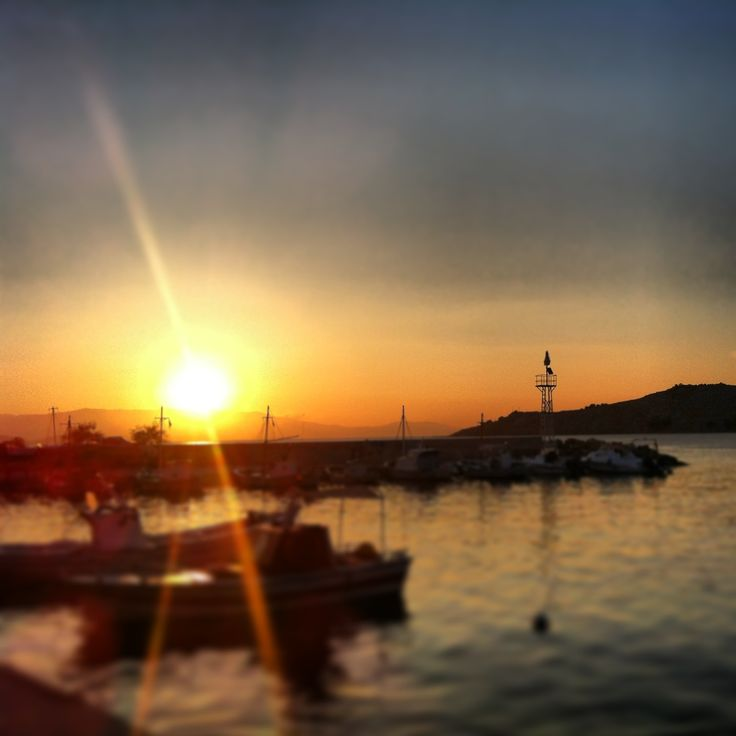 Lagada chios sunrise after a night full of alcohol!