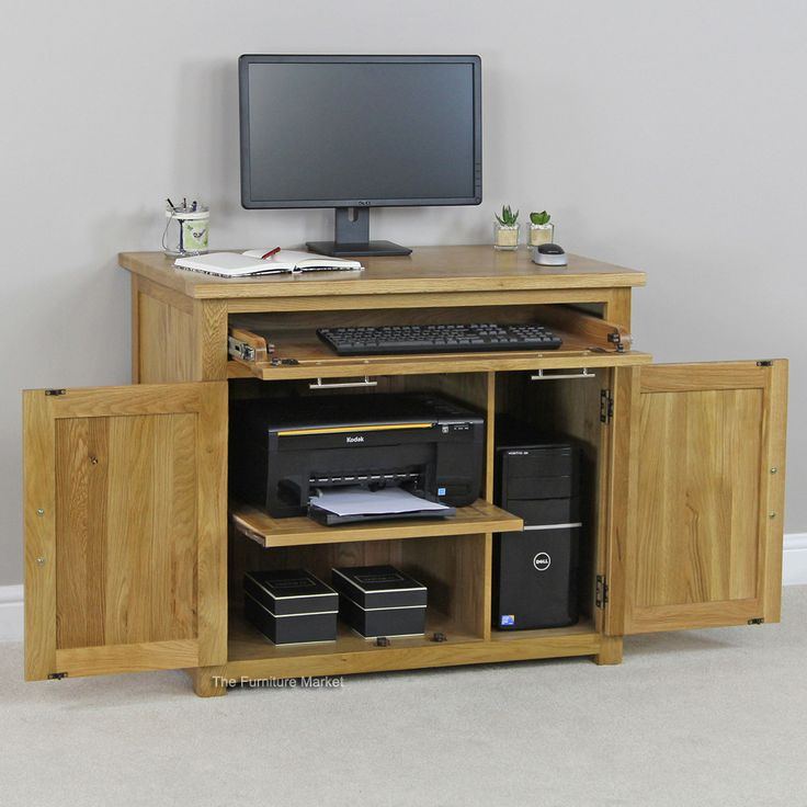 1000 ideas about Hideaway puter Desk on Pinterest