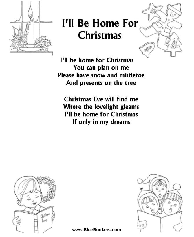 This is a picture of Exceptional Christmas Caroling Songs Printable