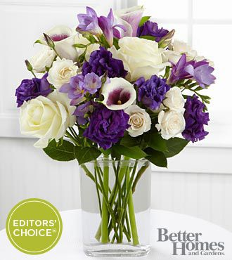 The FTD® Moonlit Meadows Bouquet by Better Homes and Gardens®   http://www.ftd.com/5970/catalog/product.epl?product_id=FBGP&index_id=product_bhg&sid=1