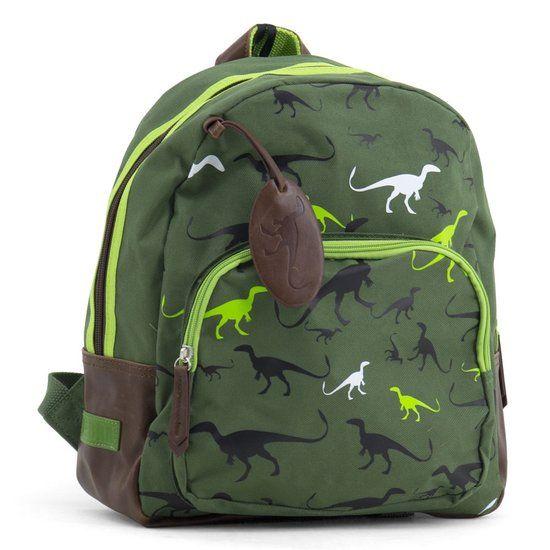 Zebra Trends Dino - Rugzak - Kinderen - Groen