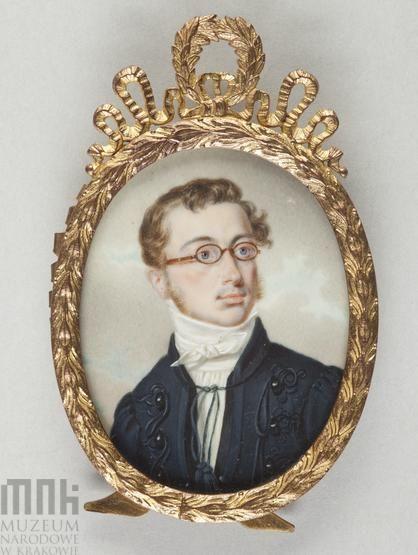 Marszałkiewicz, Stanisław (1789-1872), Portrait of Franciszek Moszczeński (1794 - 1863), after 1830 Krakow, National Museum