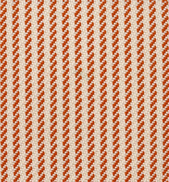Tissu outdoor Jacquard en fibre synthétique façon grosse toile Summertime (Dedar)
