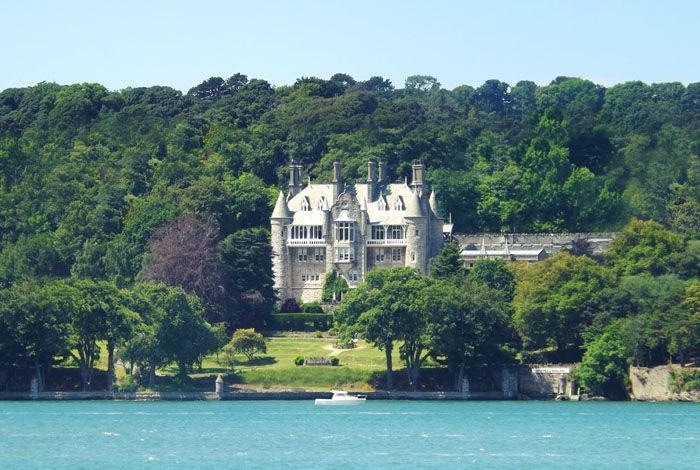 10 UK coastal wedding venues | Chateau Rhianfa, North Wales | weddingsite.co.uk