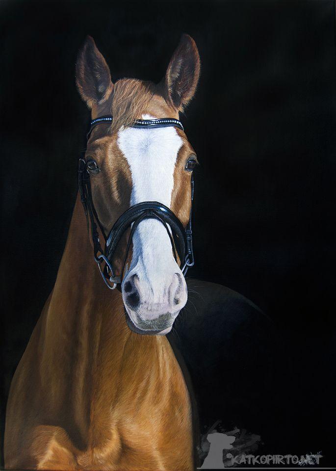 """""""Beeda"""" Oil painting, size 50cm x 70cm"""