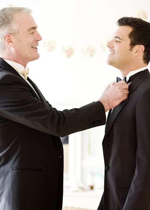 Everything the Father of the Groom Might Be Responsible for at the Wedding | Brides.com