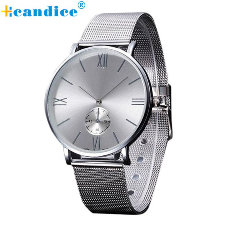 Cheap watch quartz, Buy Quality watch bluetooth directly from China watch stand Suppliers: 2016 Casual Silver Women Watch Crystal Stainless Steel Buckle Roman Numbers Analog Quartz Lady Wrist Watch Bracelet Watch Oct20