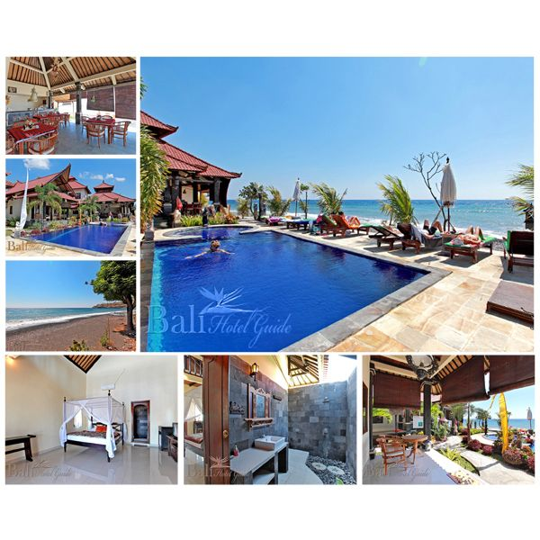 Tradisi Villas is a leading hotel in the area with excellent location, beautiful view and clean, comfortable accommodations. The hotel has a pretty, blue pool and small Jacuzzi facing the sea with basic, open-air restaurant and bar nearby.  Click on the link to reserve your room now! http://www.balihotelguide.com/booking/hotels/559_en-US/tradisi-villas.aspx