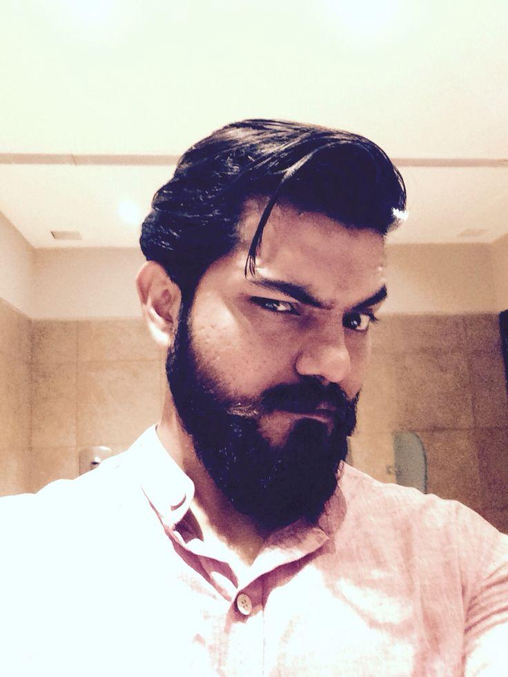#Selfie is a healer! #Beard is an ideal company .