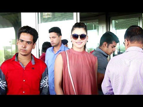 Urvashi Rautela leaving for Delhi to promote GREAT GRAND MASTI movie. See the full video at : https://youtu.be/cqFFSxigzBU #urvashirautela