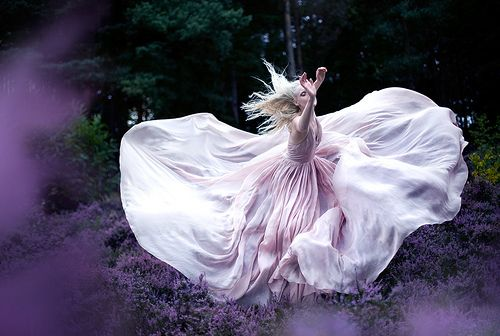Wonderland  'While Nightingales wept' by Kirsty Mitchell, via Flickr