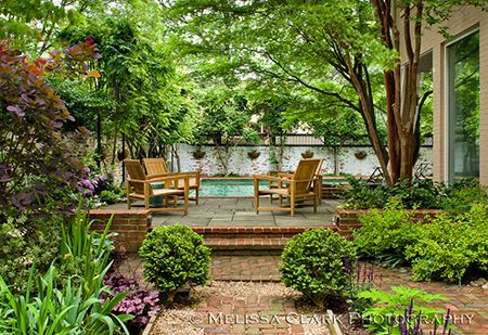 Thomas Church: Another famous American landscape architect of this century also followed the concept of the garden as an outdoor room.