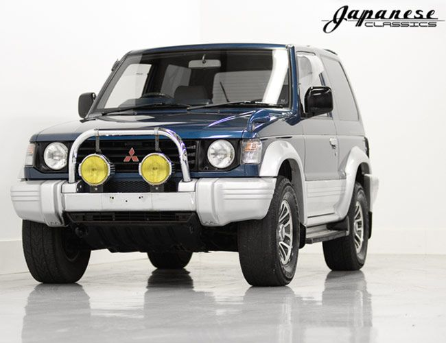 For The Love Of God Please Buy This Rad Jdm Off Roader So I Don T Have To In 2020 Mitsubishi Pajero Japan Motors Mitsubishi