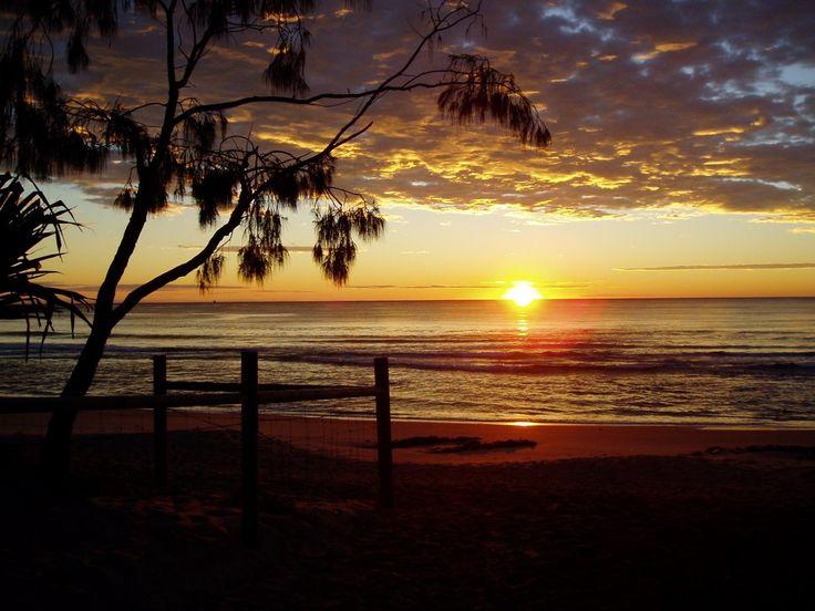 Sunrise on the Sunshine coast.  #airnzsunshine