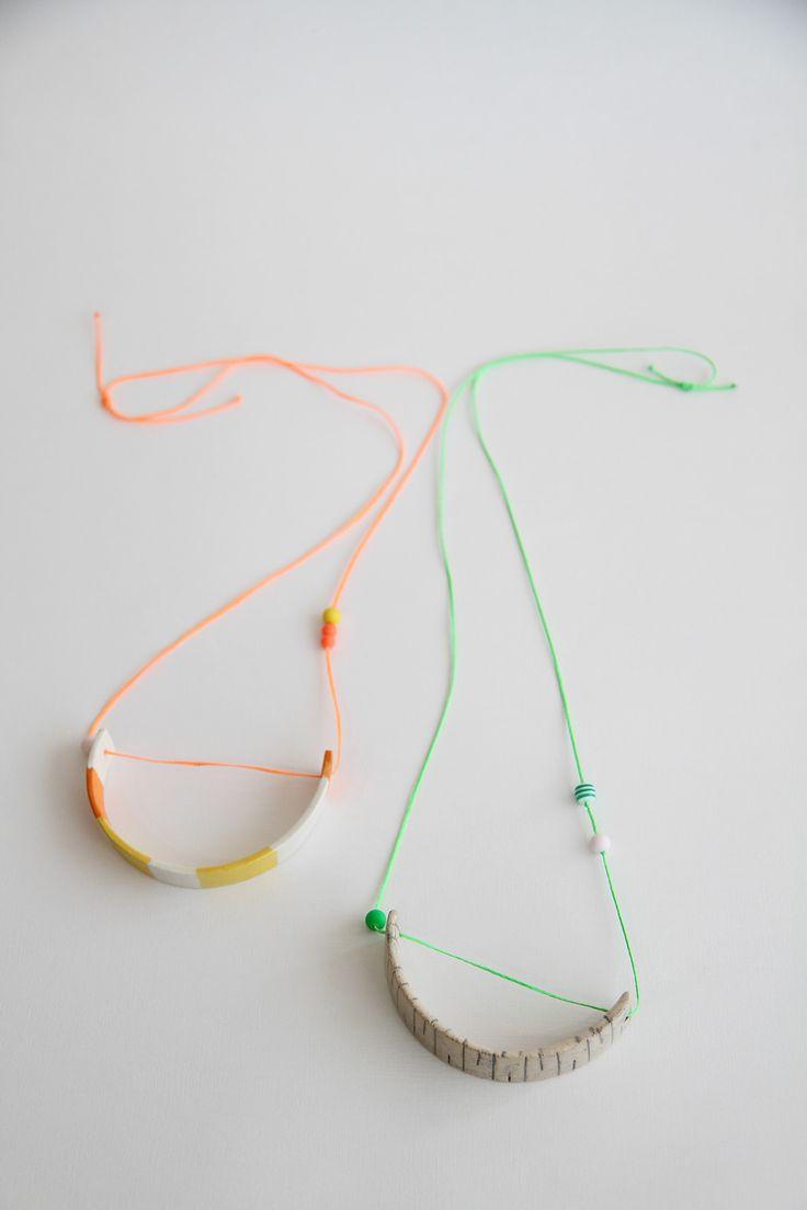 anaesKeramik ceramic necklaces