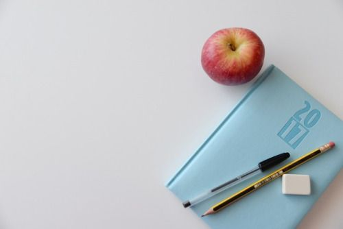 New free stock photo of apple notebook office