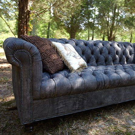 Fancy   Tufted Leather Sofa   Berwick Collection | Arhaus Furniture
