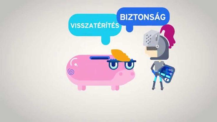 """Spot """"Karta kredytowa"""" (wersja węgierska) BERGER+CHOJNACKI dla CITIBANK HUNGARY"""