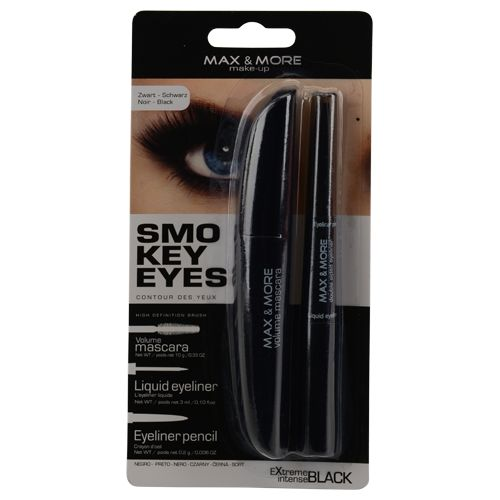 max+more mascara avec double eye-liner