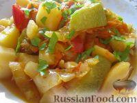 Фото к рецепту: Овощное рагу вегетарианское