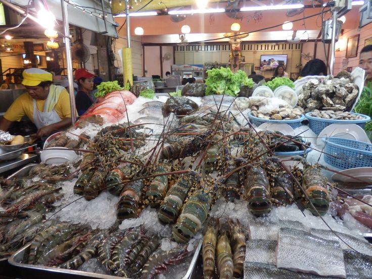 Night Market in Hua HIn. Thailand