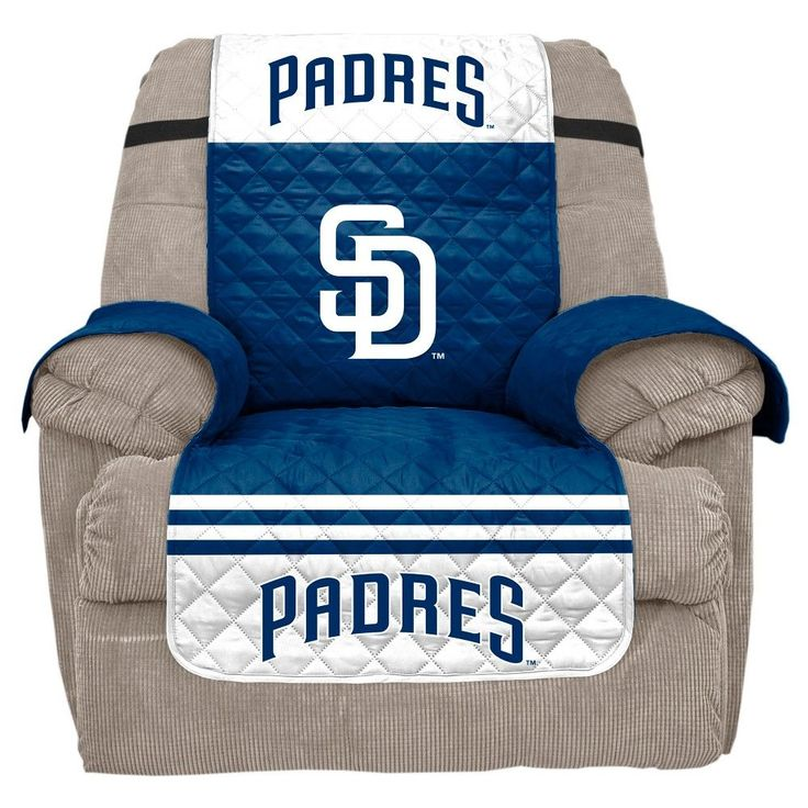 MLB San Diego Padres Recliner Slipcover, Durable