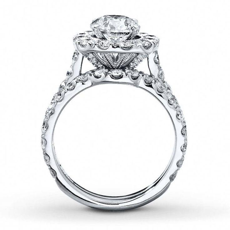 Neil lane bridal set 338 ct tw diamonds 14k white gold
