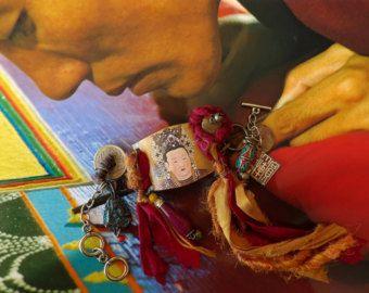 Bracelet nomade tribal bracelet yoga méditation by FUJIGIRLS