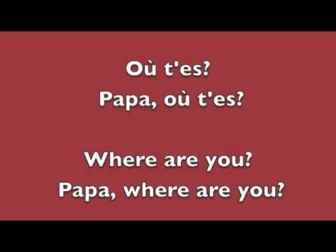 Papaoutai - Stromae - English and French Lyrics