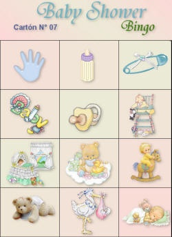 loteria baby shower 7