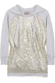 sparkle hoodie!