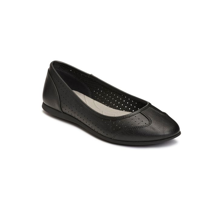 Women's A2 by Aerosoles Papaya Ballet Flats - Black 10.5