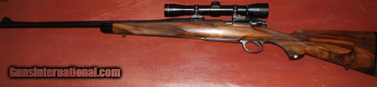 VERY NICE GARY GOUDY 338 WINCHESTER MAGNUM