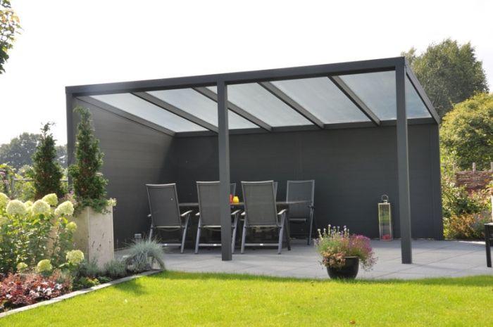 Couverture de terrasse en aluminium - Protection optimale ...
